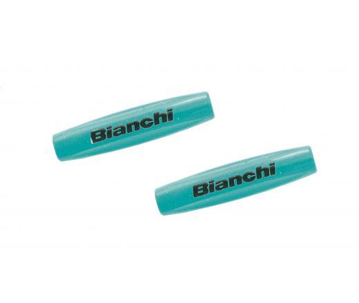 Bianchi Frame Guards Tube Tops 10 pcs. celeste/black