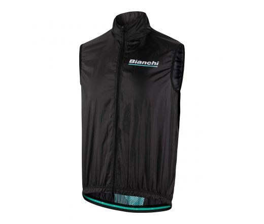Bianchi Reparto Corse - Sleevless Wind Jacket - black 2019