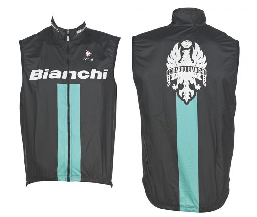 Bianchi Reparto Corse - Sleevless Wind Jacket - black
