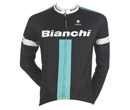 Bianchi Reparto Corse - Long Sleeve Jersey - black