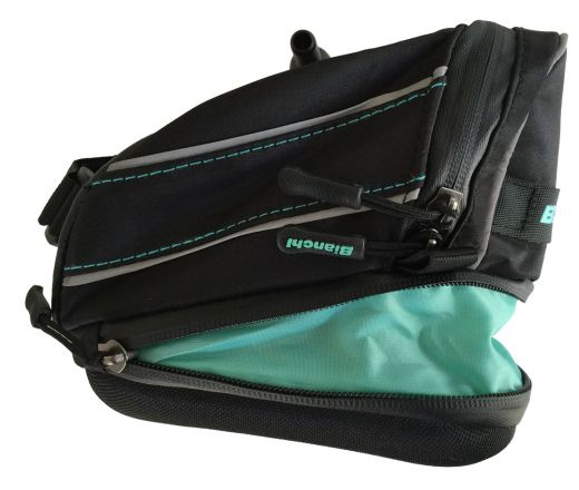 Bianchi Expanding T-Bar Saddle bag