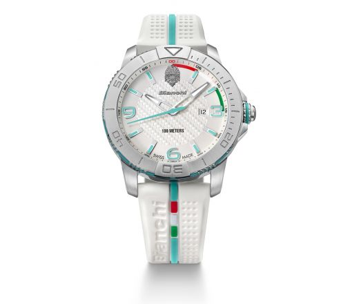 Bianchi Swiss Made - Three Hands 43mm - white