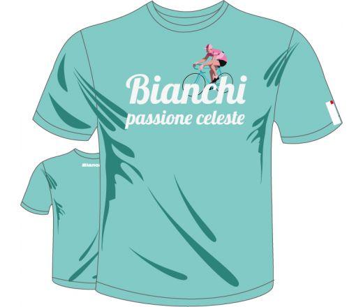 Bianchi T-Shirt - Passione Celeste Vintage