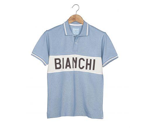 Bianchi L'Eroica - Poloshirt - azzurra