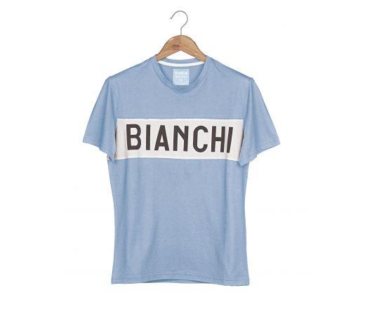Bianchi L'Eroica - T-Shirt - azzurra
