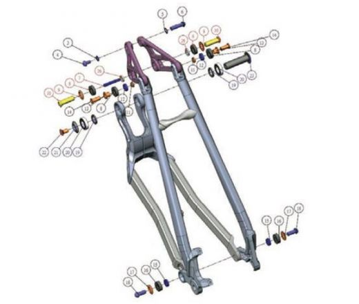 Kit Full Suspension -  JAB 27,5