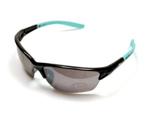 Bianchi FALCO - okulary przeciwsloneczne czarne/celeste