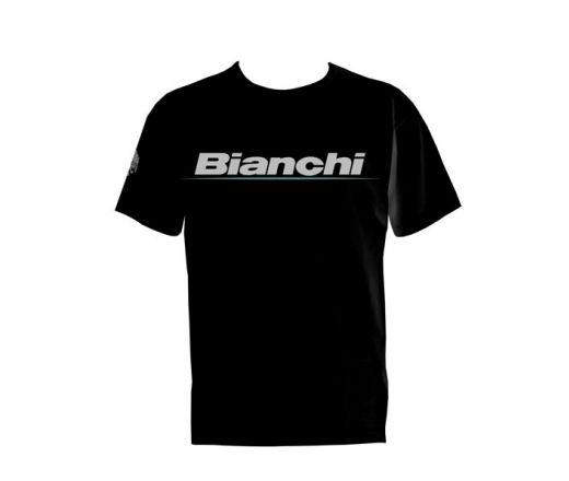 Bianchi Urban T-Shirt black man logo