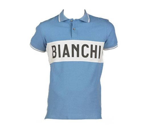 Bianchi L'Eroica - Polo Shirt clear blue