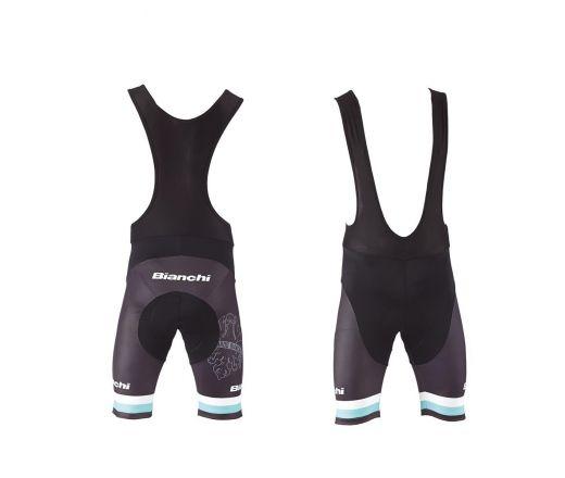 Bianchi Sport Line Man - Bib Short noir