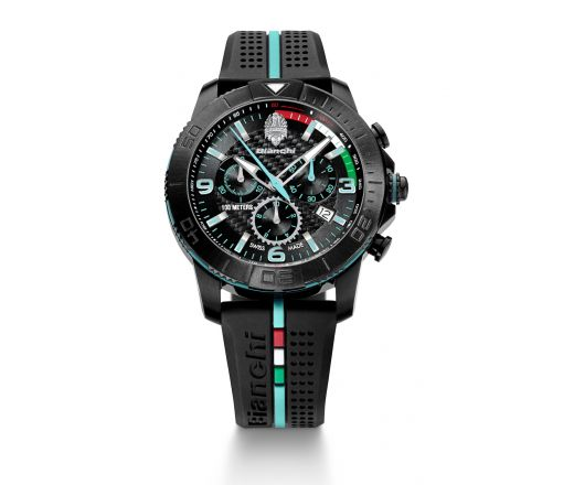 Bianchi Swiss Made - Chrono 43mm - schwarz