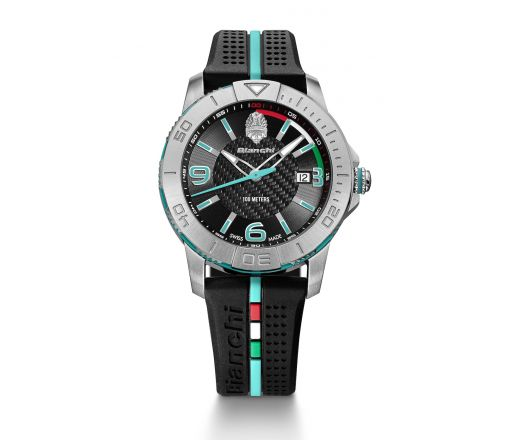 Bianchi Swiss Made - Three Hands 38mm - black