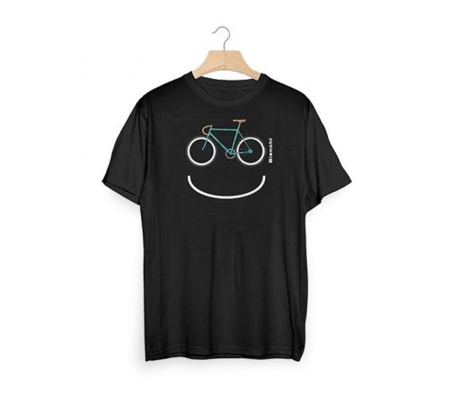 Bianchi T-Shirt Smile - black