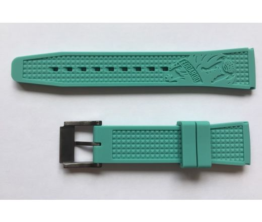 Bianchi Watch Strap Gents 43mm - celeste