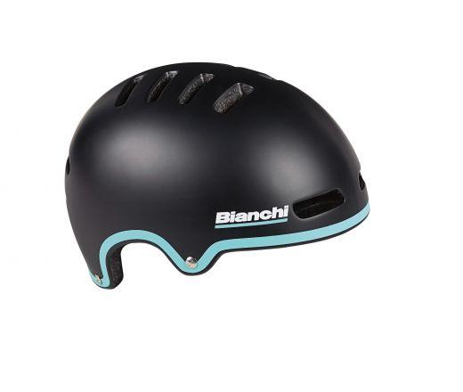 Bianchi Helmet - Armor - Black/celeste