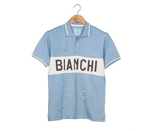 Bianchi L'EROICA Polo - Gent - Clear Blue