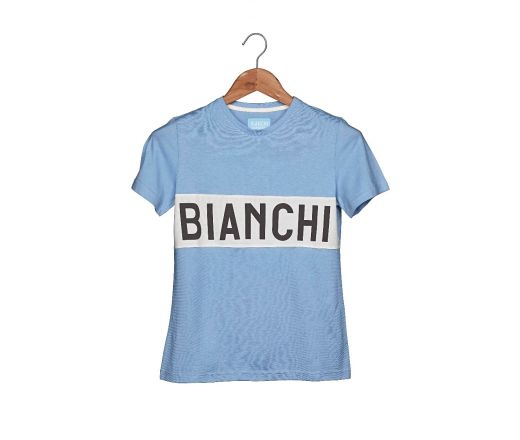 Bianchi L'EROICA T-shirt - Lady - Clear Blue