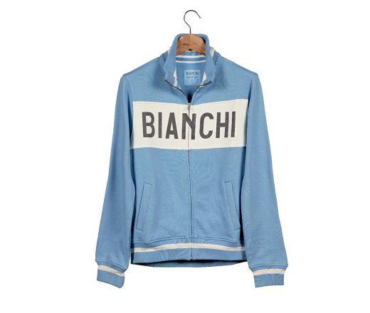 BIANCHI L'EROICA SWEATSHIRT - LADY - Hellblau